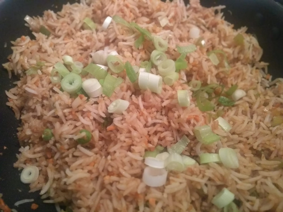 veg fried rice recipe | vegetable fried rice | chinese fried rice